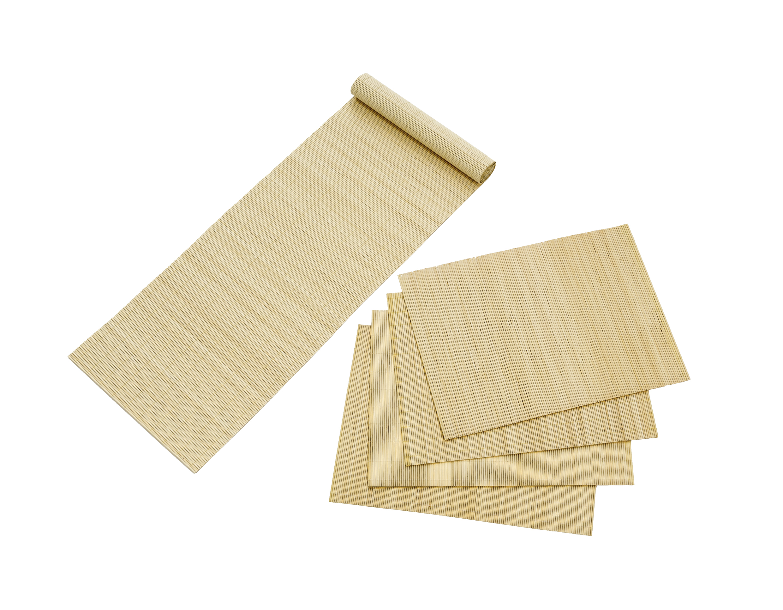 Rideaux luxe bambou table runner napperon asie japon - Linge de table luxe ...