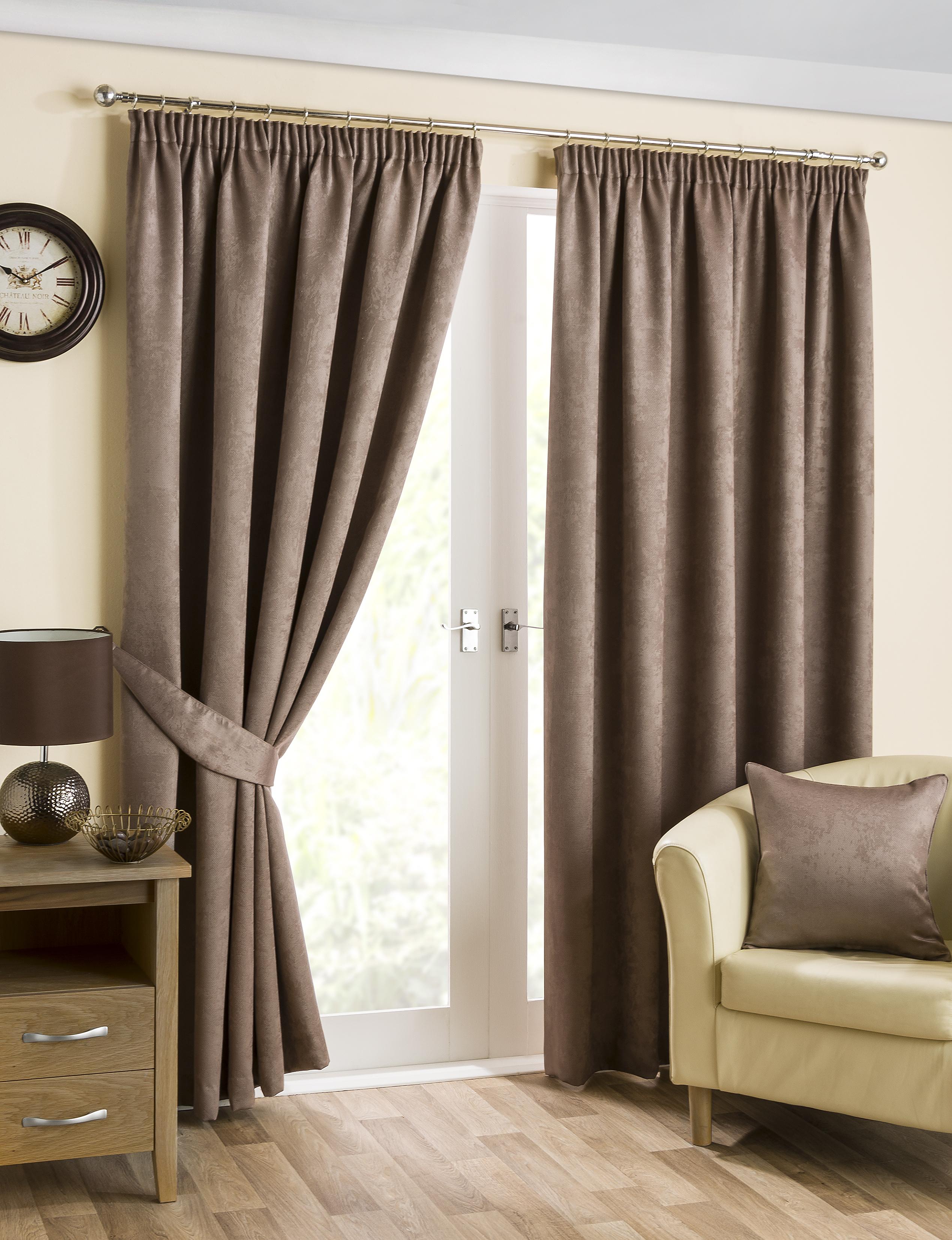rideaux occultants mink de luxe thermique bande douce haut. Black Bedroom Furniture Sets. Home Design Ideas