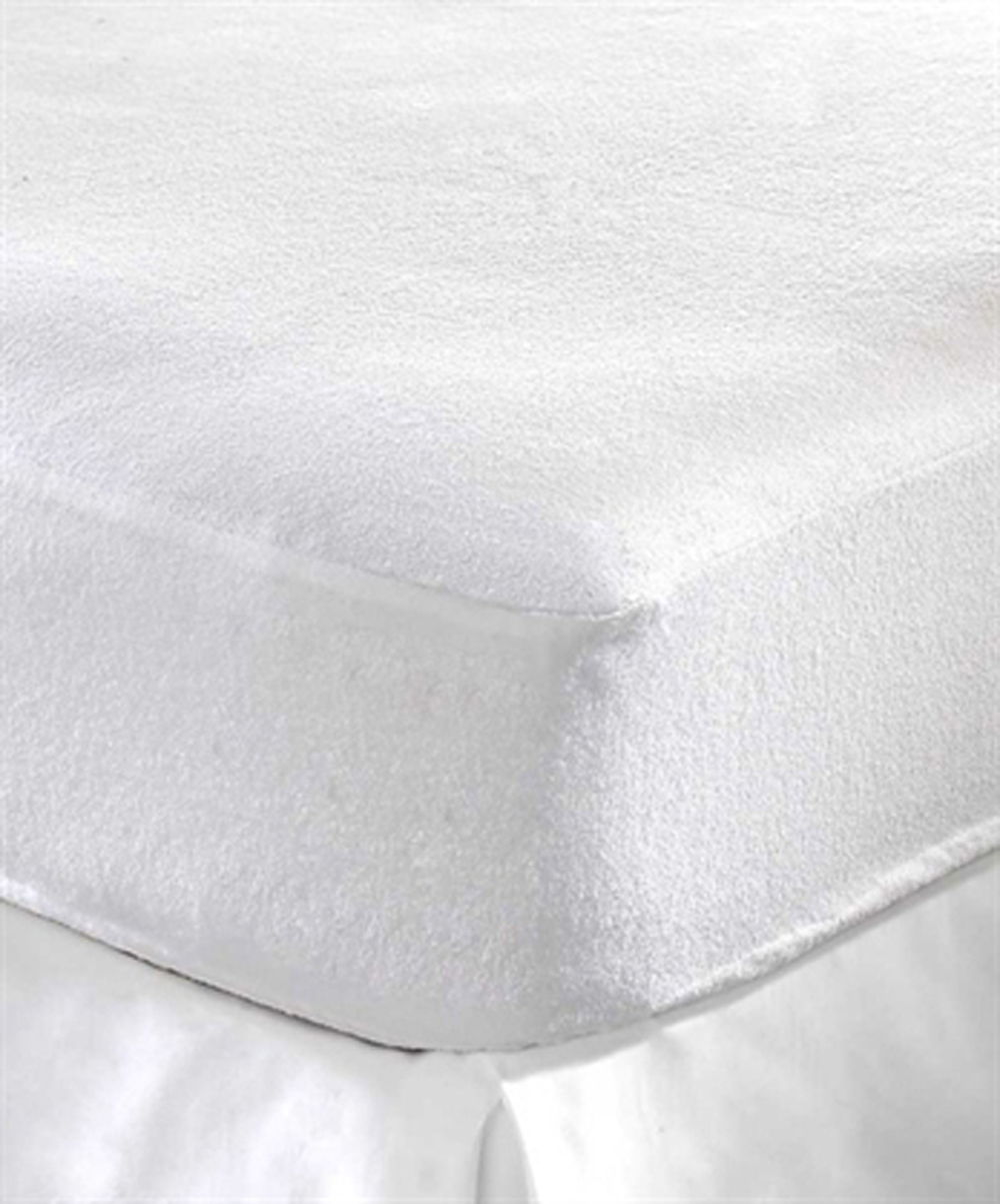 Terry Towel Waterproof Fitted Sheet Mattress Protector