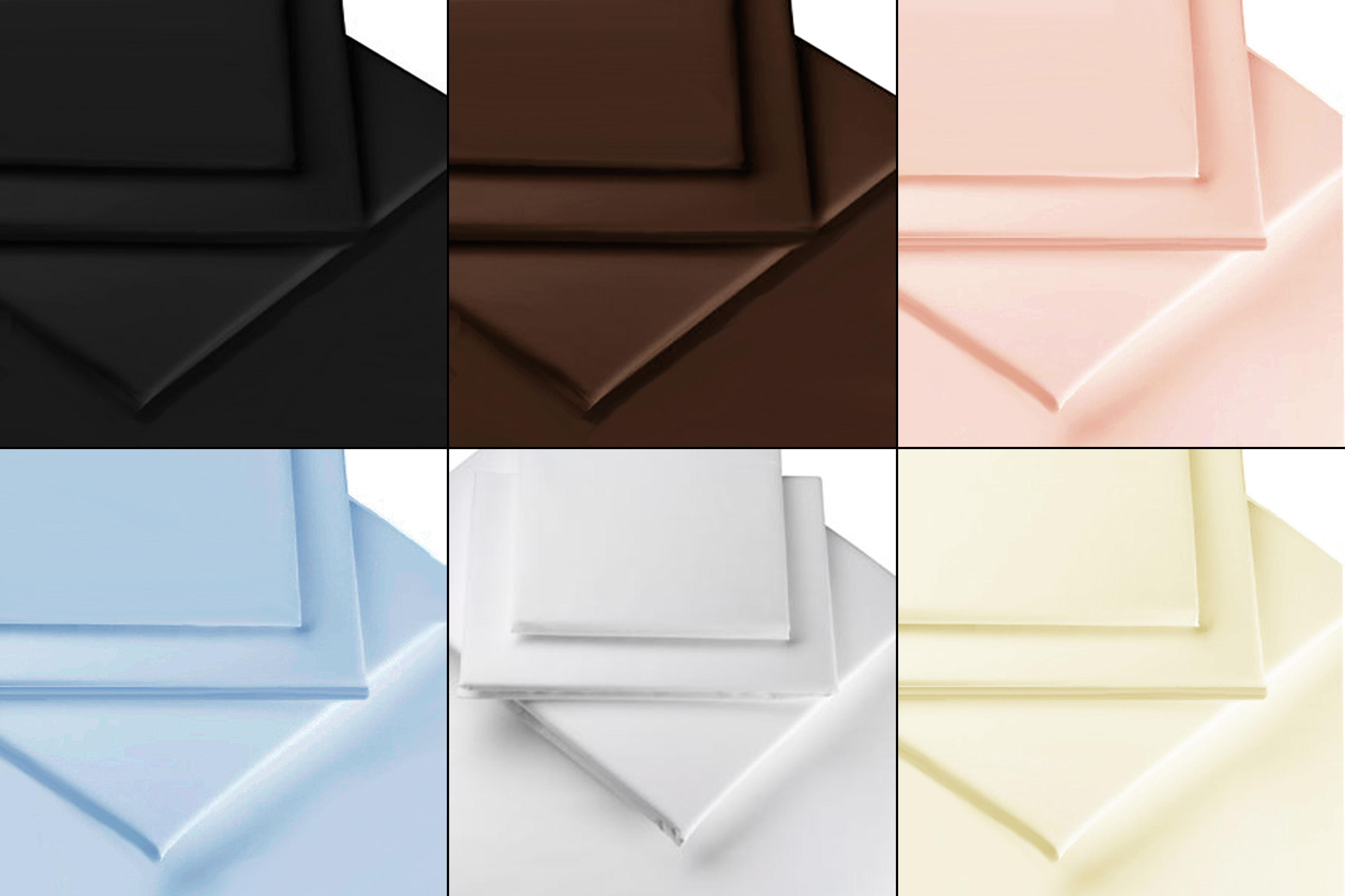 Draps literie luxe 100 percale de coton gyptien toutes les tailles couleurs - Literie de luxe en ligne ...