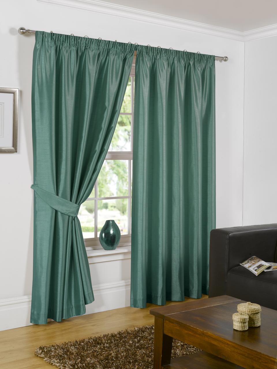 vorhang kunstseide luxus gebrauchsber futter oben band d nne falten raffhalter ebay. Black Bedroom Furniture Sets. Home Design Ideas