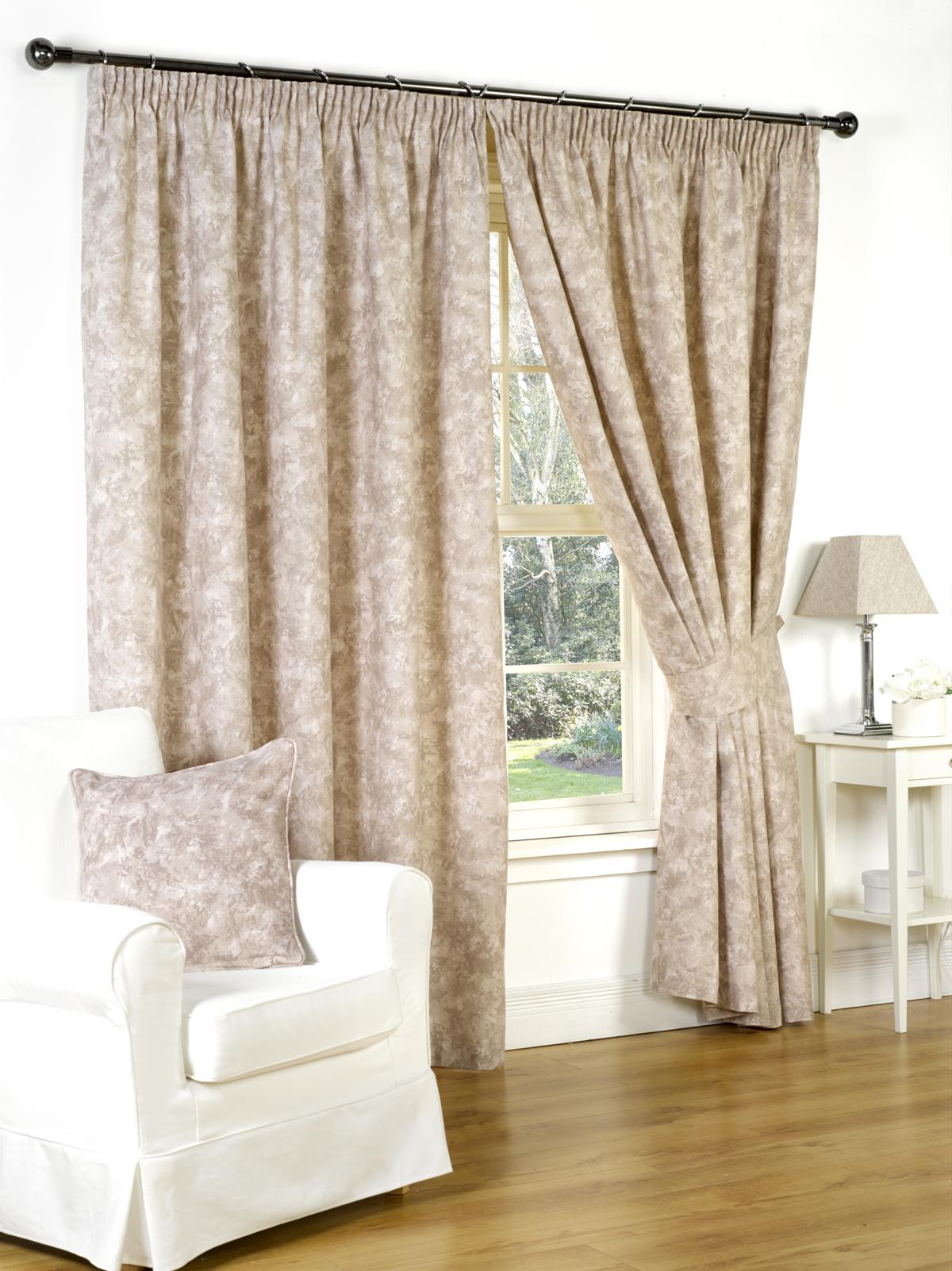 rideaux doubl s modernes pr ts poser diff rentes accessoires couleurs tailles ebay. Black Bedroom Furniture Sets. Home Design Ideas