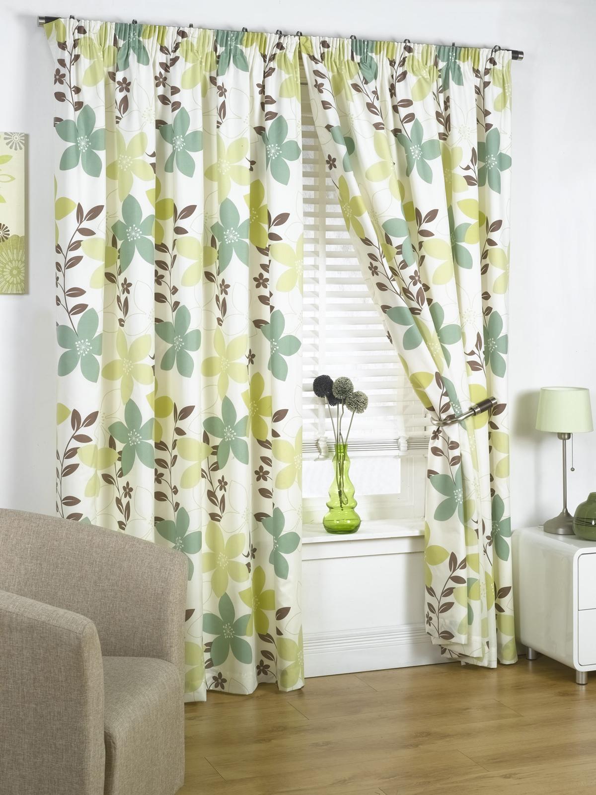 rideaux pr 234 ts 192 poser fleuris doubl 233 s vari 233 t 233 de couleurs tailles neufs ebay