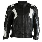 Texpeed Mens Bavari Leather Racing Jacket