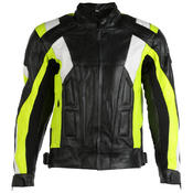 Texpeed Mens Lumino Leather Racing Jacket