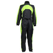 Texpeed Black / Hi-Vis Elasticated Waterproof Over Suit