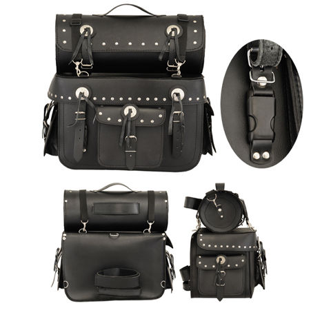 Turin Saddle Bags & Toll Roll
