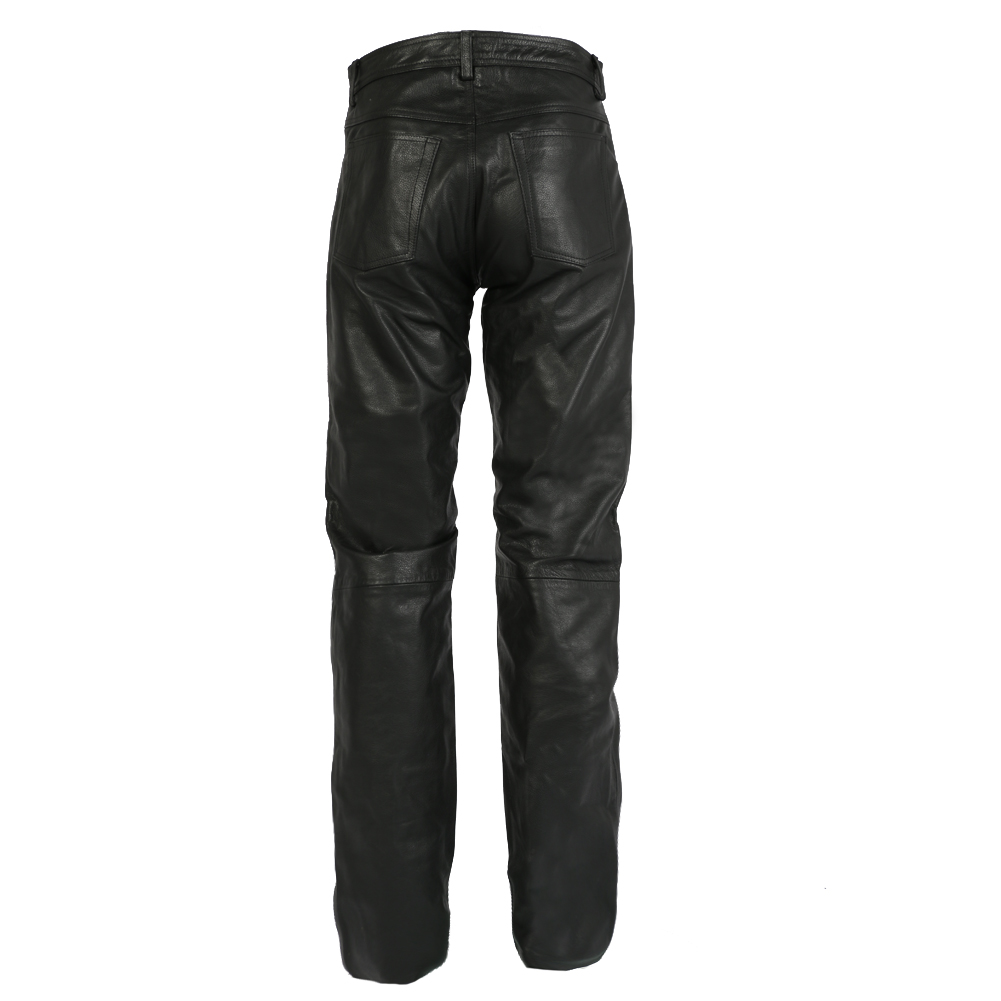 Texpeed Black Leather Jeans