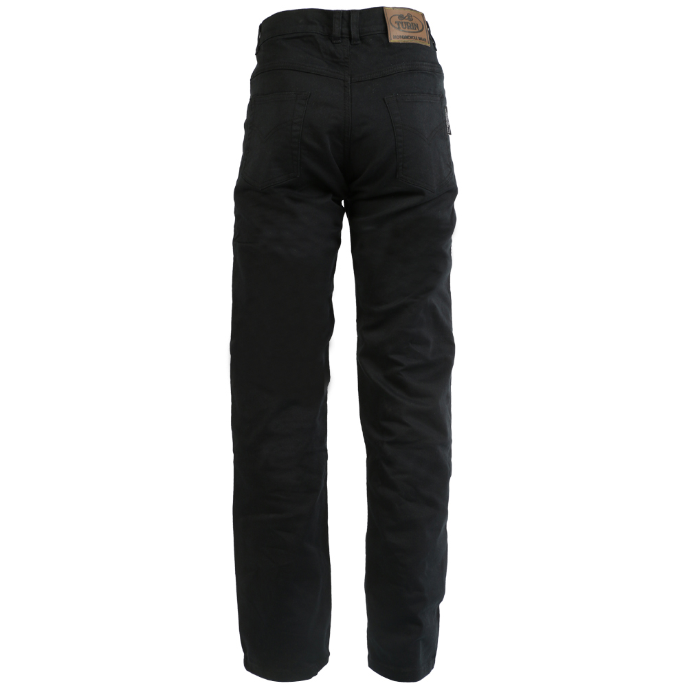 Turin Ladies Black Kevlar Jeans