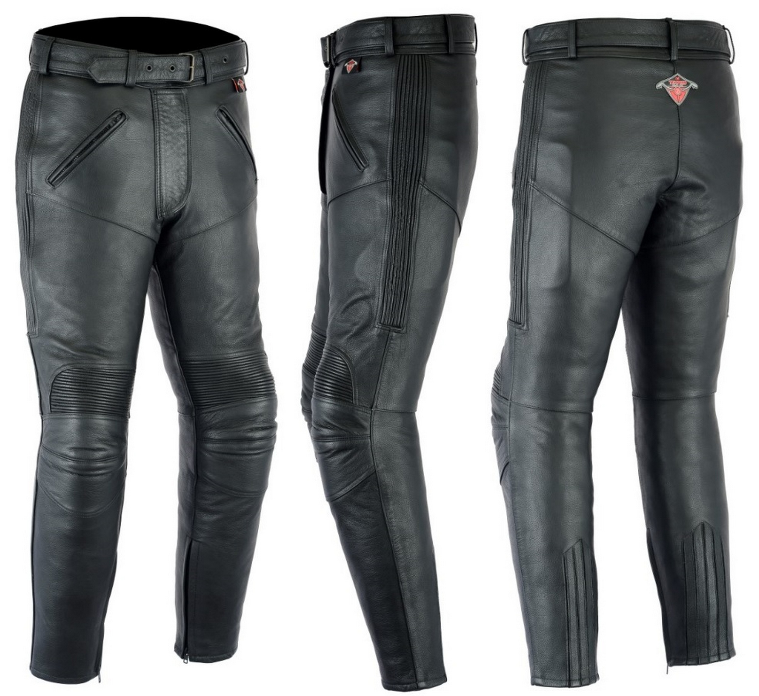 Innovative Icon Hella Womens LeatherPant - Womens Motorcycle Pants - Rave X
