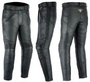 Texpeed Ladies Leather Motorcycle Pants