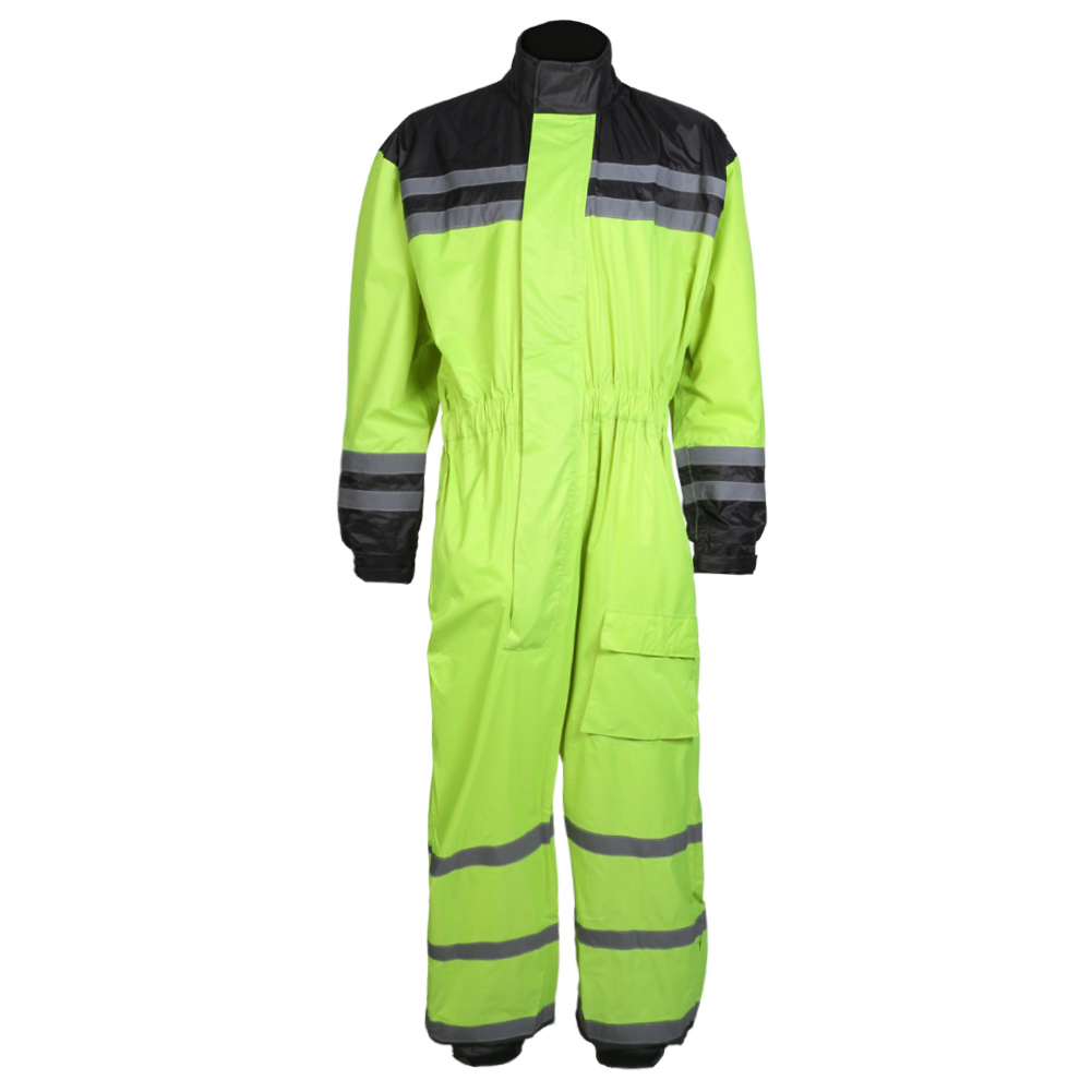 Texpeed Hi-Vis Elasticated Waterproof Over Suit