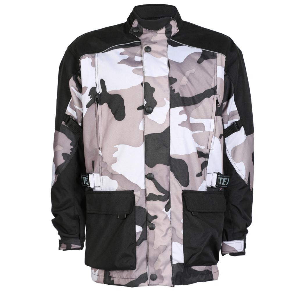 Texpeed Black & Grey Camo Armoured Jacket