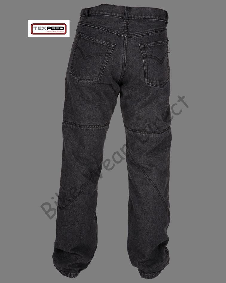 motorradhose herren denim kevlar schutzpolster biker jeans. Black Bedroom Furniture Sets. Home Design Ideas