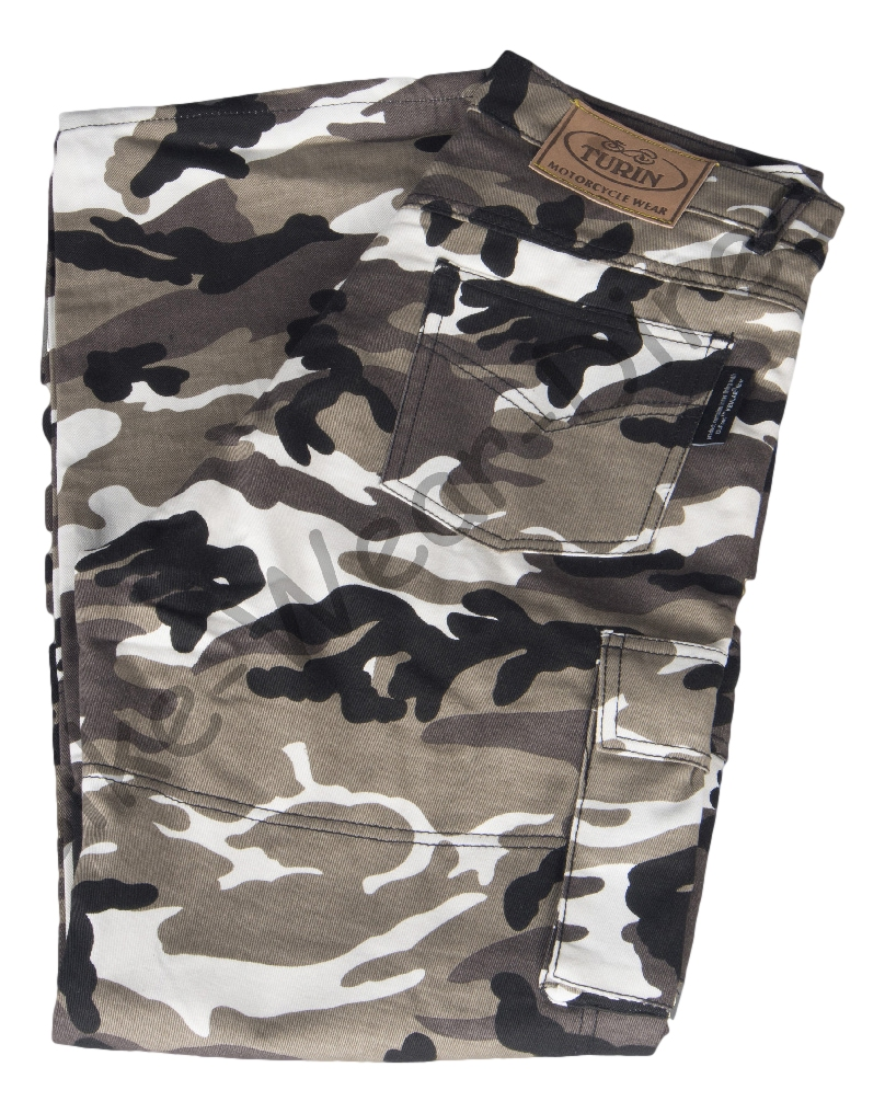 Grey Camouflage Kevlar Jeans