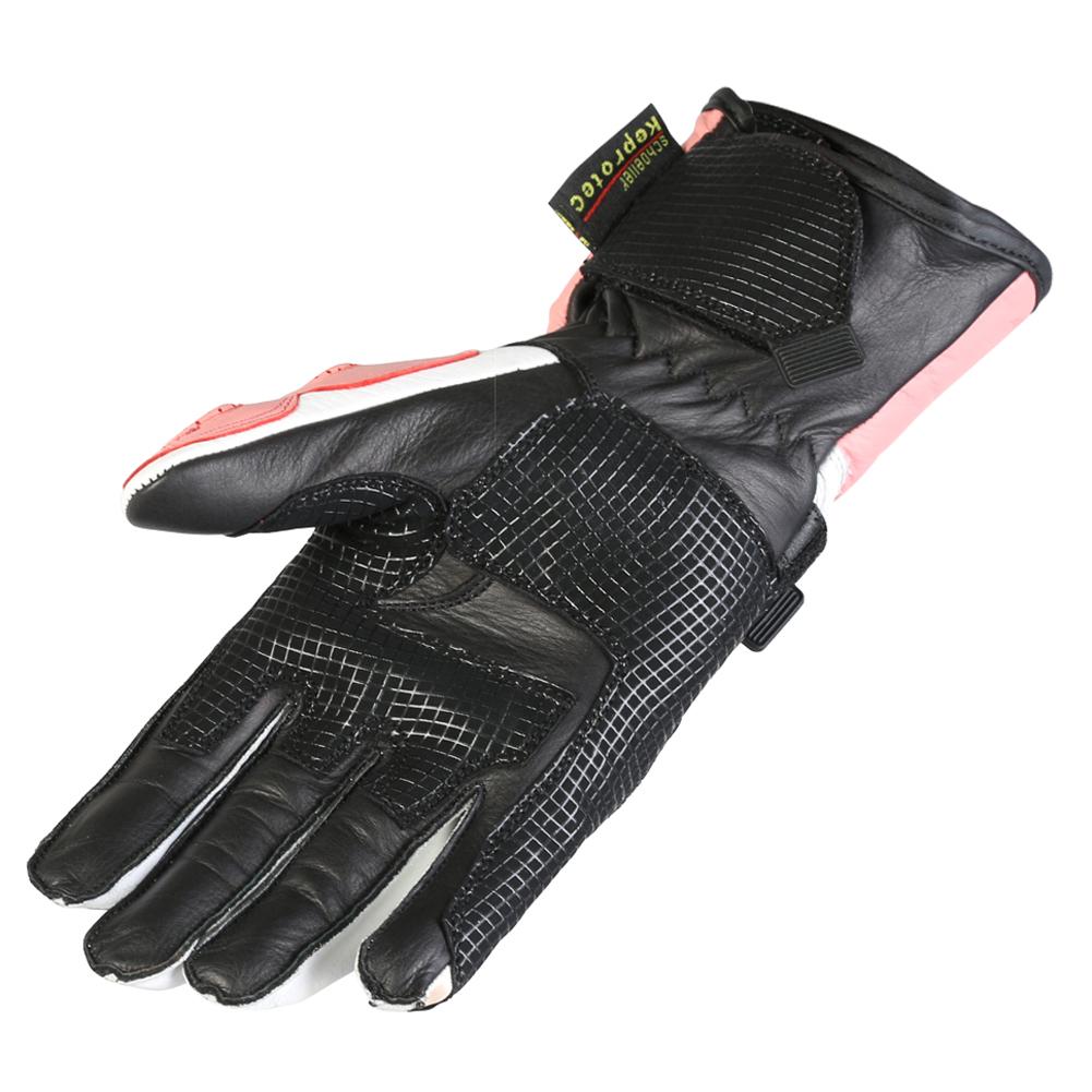 New Ladies Leather Waterproof Winter Motorcycle