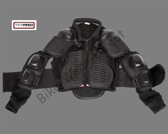 Childrens Childs Motorcycle Bike MX Quad Enduro Body Armour Protection Jacket 6