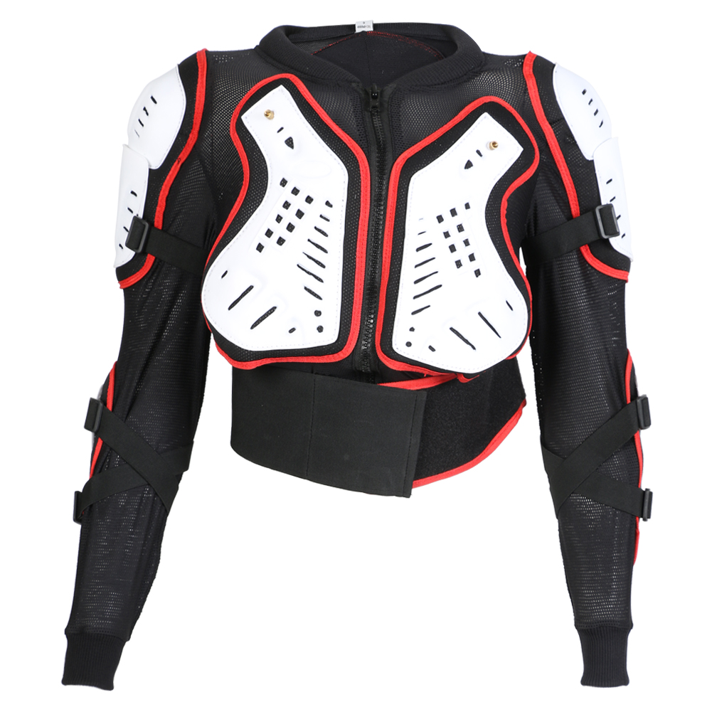 Texpeed Red/White Childrens Body Armour