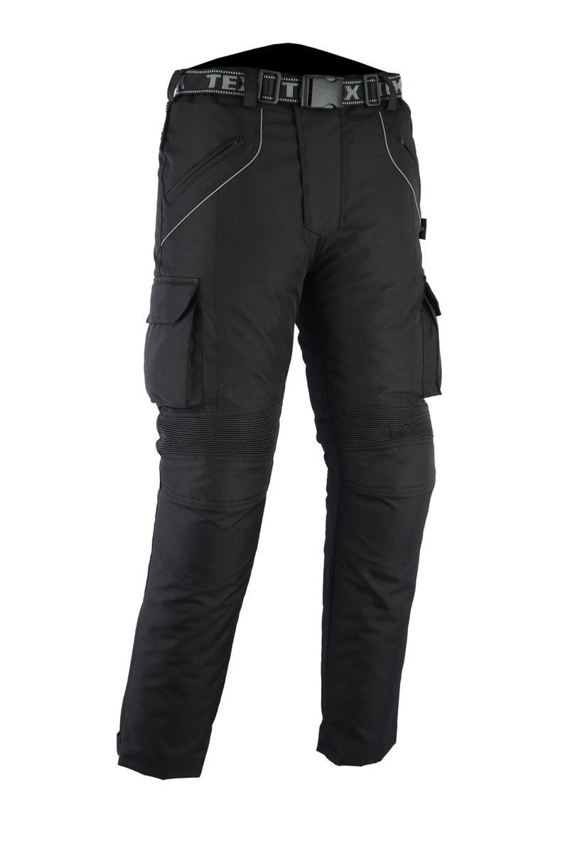 Texpeed Black Waterproof Armoured Trousers
