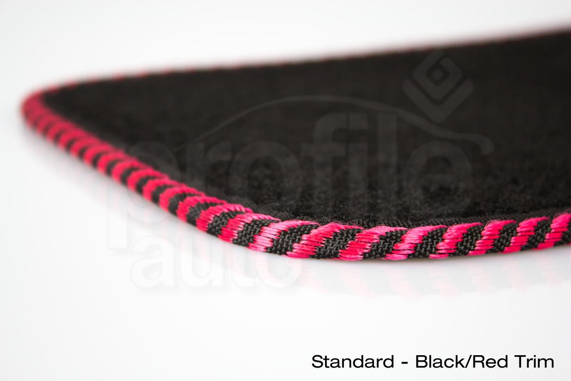 Landrover Freelander Mk1 2 97-06 Black Tailored Floor Car Mats Carpet //Rubber