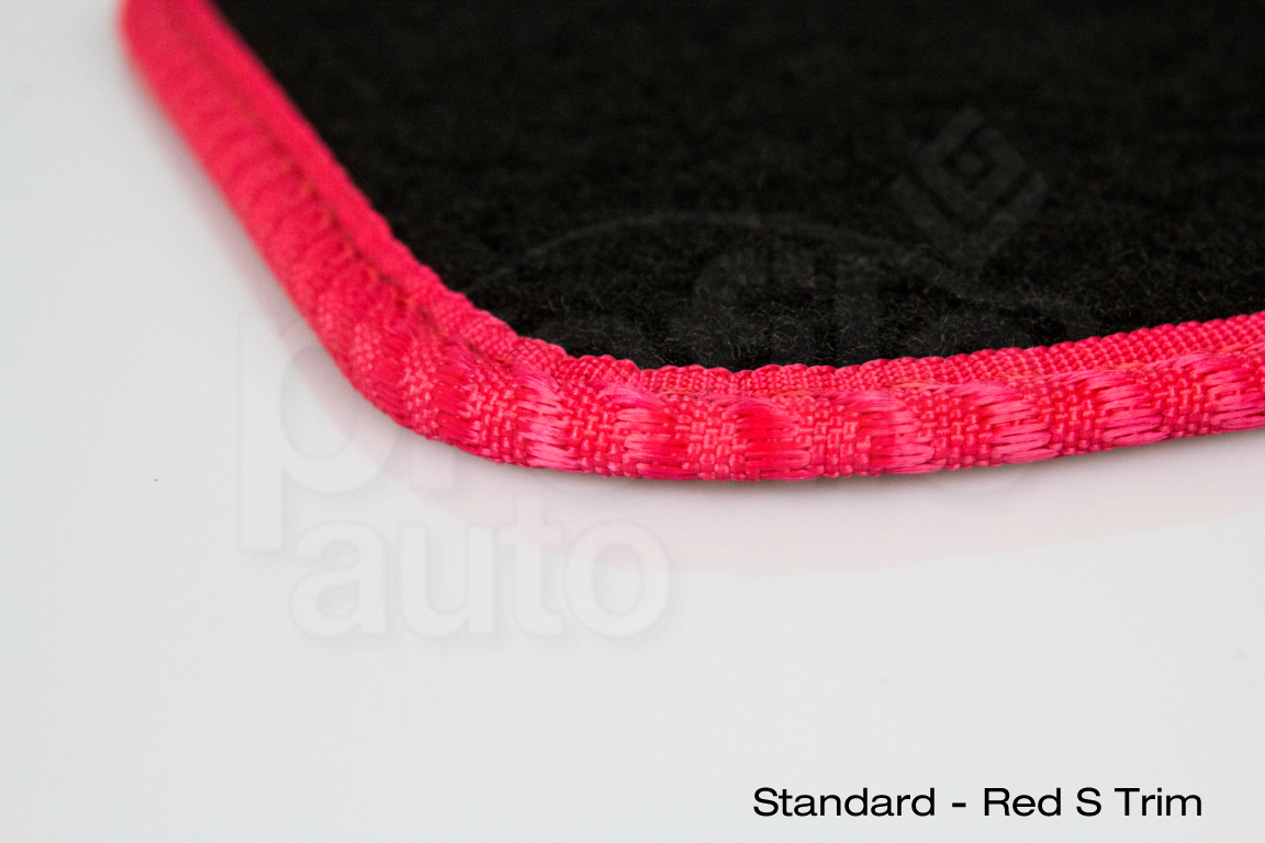 Honda Jazz 2011-2015 Black Tailored Floor Car Mats Carpet //Rubber