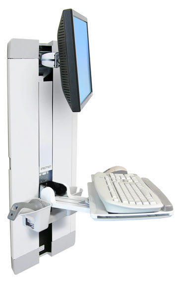 Ergotron StyleView Vertical Lift, Patient Room - 60-609-216
