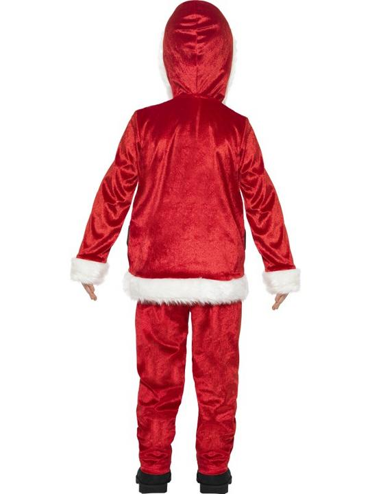 Boy's Jolly Santa Fancy Dress Costume Thumbnail 2