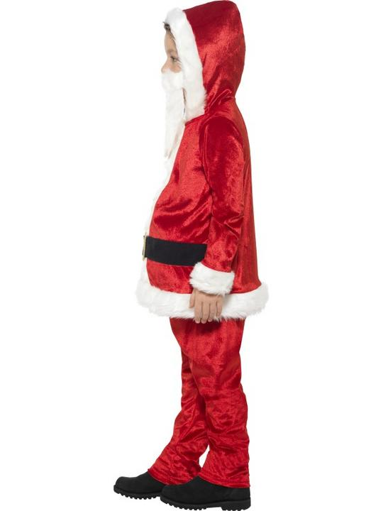 Boy's Jolly Santa Fancy Dress Costume Thumbnail 3