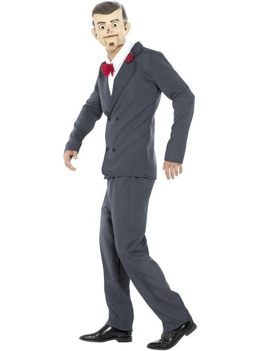 Men's Goosebumps Slappy the Dummy Fancy Dress Costume Costume Thumbnail 3