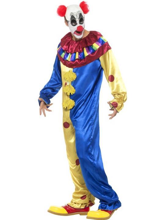 Goosebumps Clown Costume Men's Fancy Dress Costume Thumbnail 3