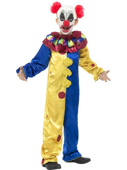 Goosebumps The Clown Boy's Fancy Dress Costume Thumbnail 1