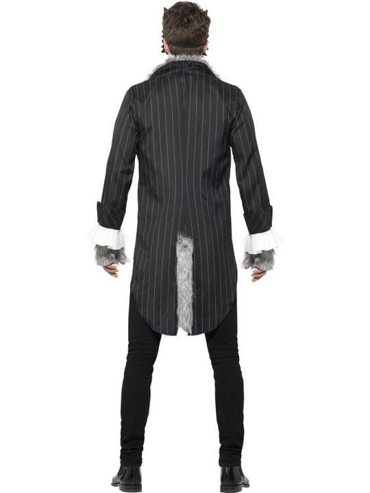 Men's Deluxe Big Bad Wolf Fancy Dress Costume Thumbnail 2