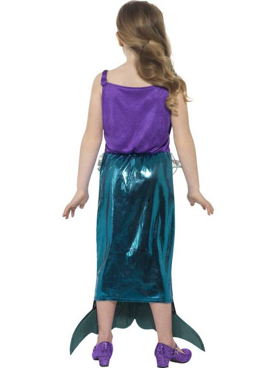 Girl's Magical Mermaid Fancy Dress Costume Thumbnail 2
