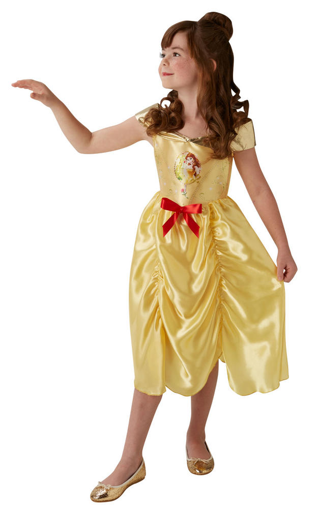 Girl's Disney Fairytale Belle Fancy Dress Costume