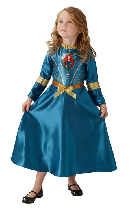 Girl's Disney Fairytale Merida Fancy Dress Costume Thumbnail 1