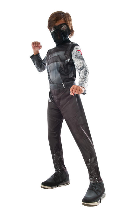 Boy's Classic Winter Soldier Fancy Dress Costume Thumbnail 1