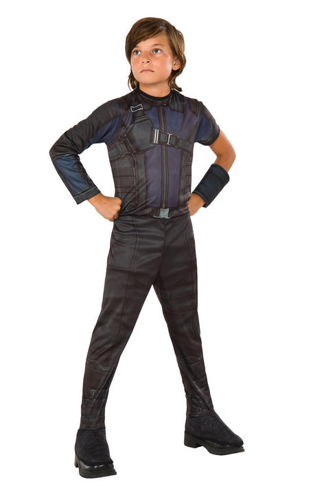 Boy's Classic Hawkeye Fancy Dress Costume Thumbnail 1