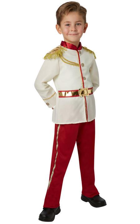 Boy's Prince Charming Fancy Dress Costume Thumbnail 1