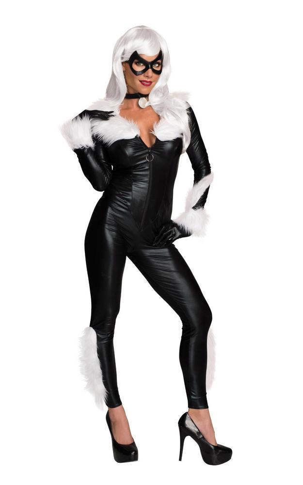 Women's Secret Wishes Black Cat Fancy Dress Costume