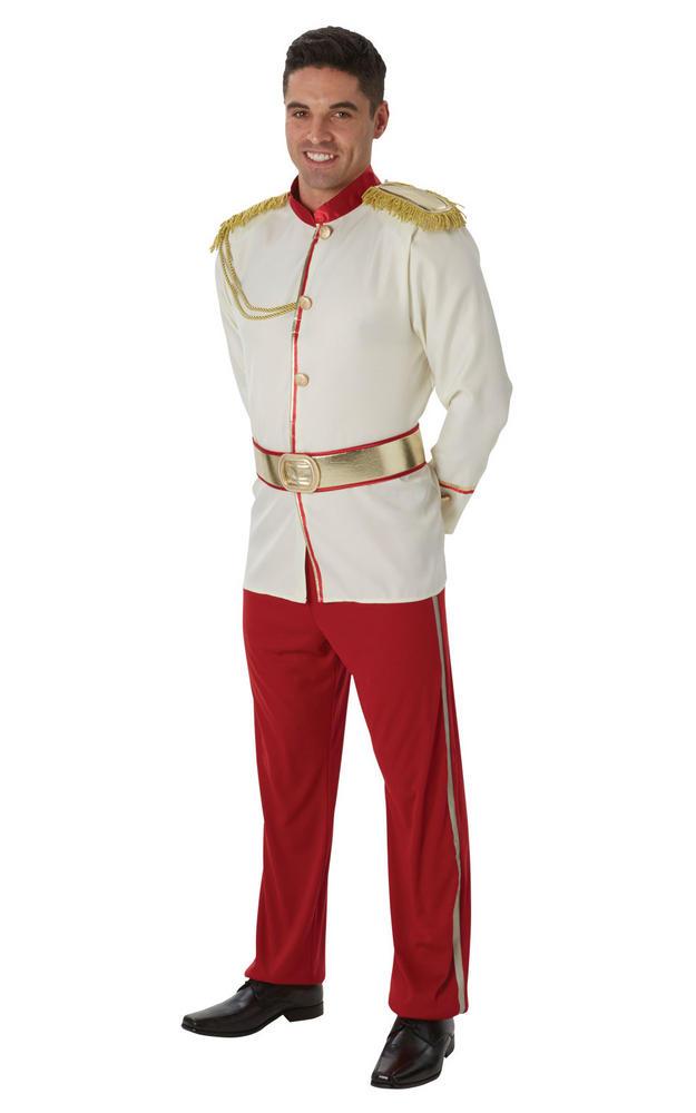 Men's Prince Charming Fancy Dress Costume