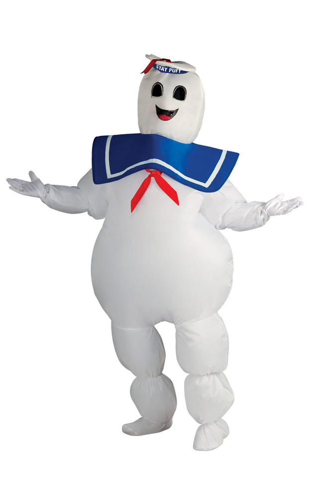 Men's Inflatable Stay Puft Fanxcy Dress Costume