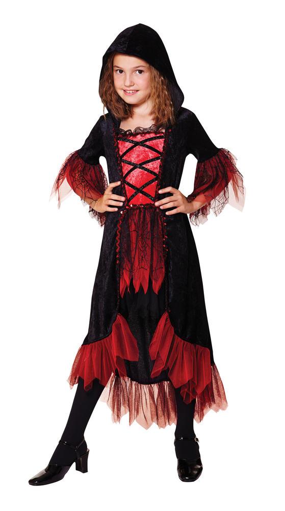 Girl's Vampire Fancy Dress Costume
