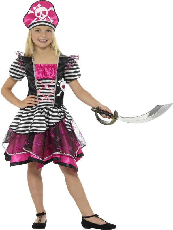 Girl's Perfect Pirate Fancy Dress Costume