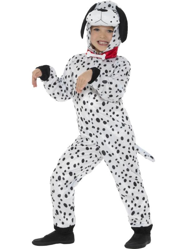 Kid's Dalmatian Fancy Dress Costume