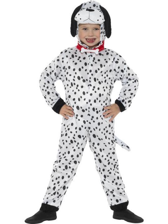 Kid's Dalmatian Fancy Dress Costume Thumbnail 2