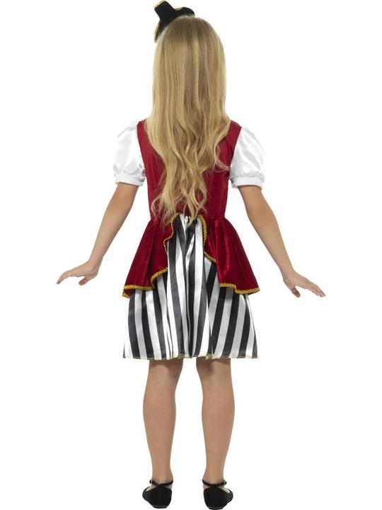 Deluxe Pirate Girl Fancy Dress Costume Thumbnail 2