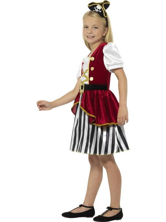 Deluxe Pirate Girl Fancy Dress Costume Thumbnail 3