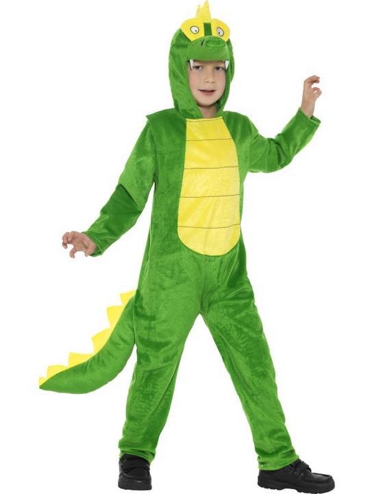 Kid's Crocodile Fancy DressCostume Thumbnail 1