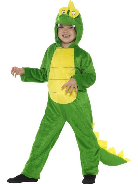 Kid's Crocodile Fancy DressCostume Thumbnail 2