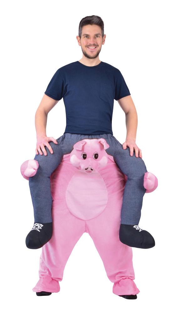 Piggy Back Pig Fancy Dress Costume